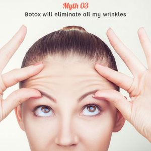 Botox will eliminate all my wrinkles