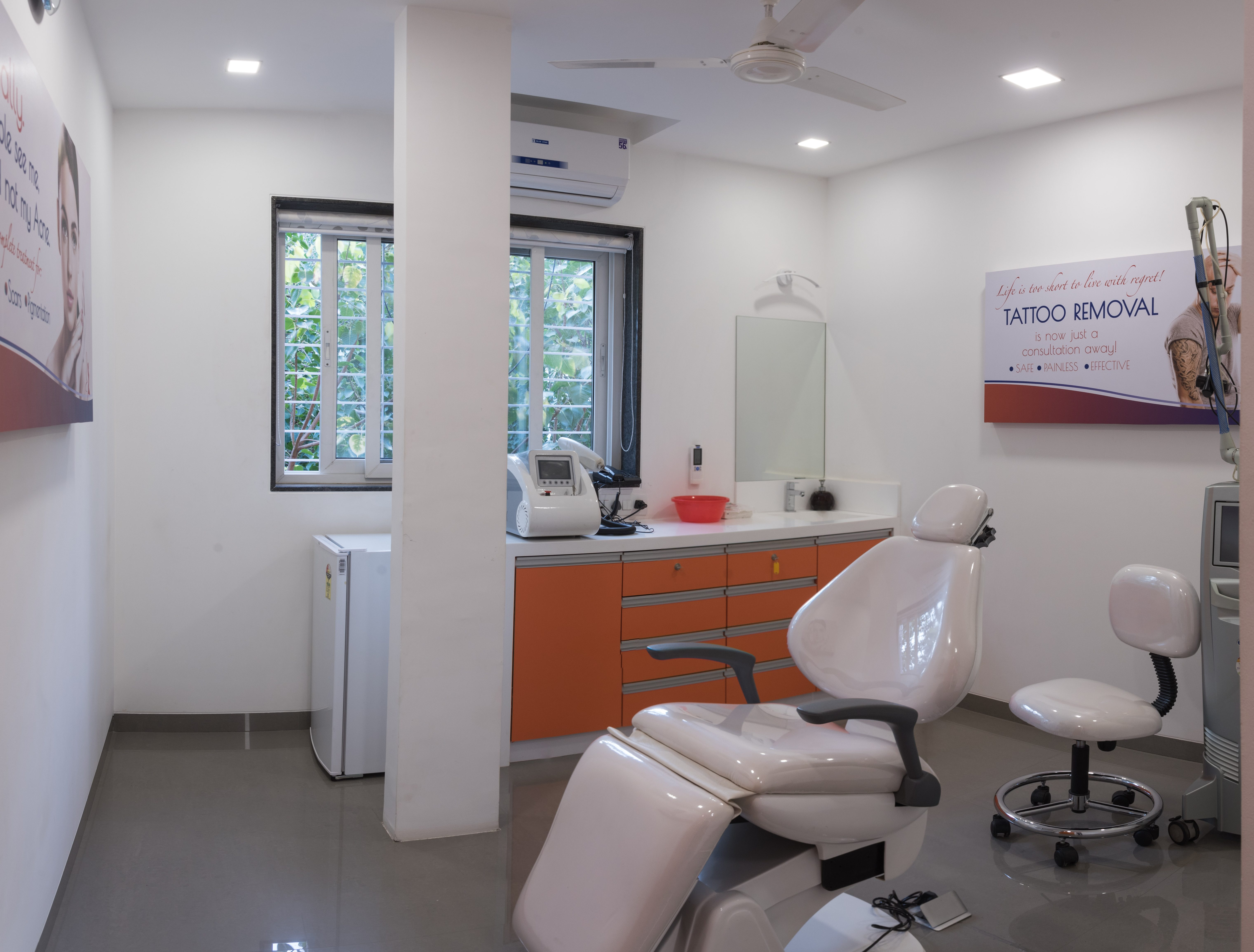 Treatment Room ( tatto removal)
