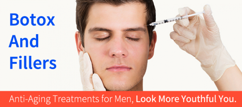 Botox and Fillers: Anti-Aging Treatments for Men, Look More Youthful You.