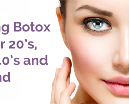 You can reach out for botox in your 20s, 30s and 40s too!
