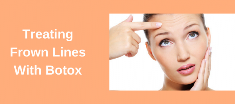 Treating Frown Lines With Botox