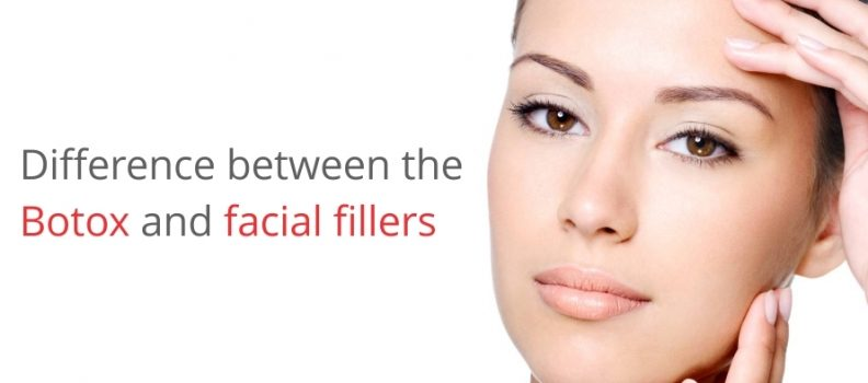 DIFFERENCE BETWEEN THE BOTOX AND FACIAL FILLERS